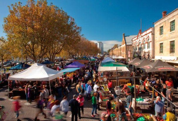 Hobart - Salamanca Markets